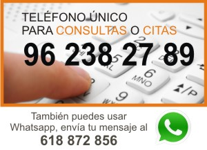 Telefono contacto Certivali, Certificados Tecnicos Valencia y Alicante