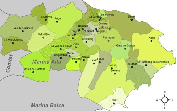 Certificado Energetico Alicante - Comarca La Marina Alta