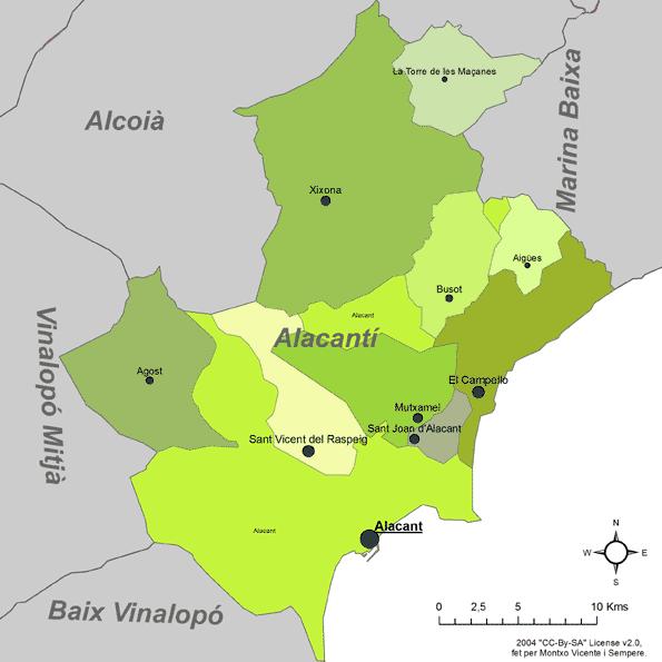 Certificado Energetico Alicante - Comarca l'Alacanti