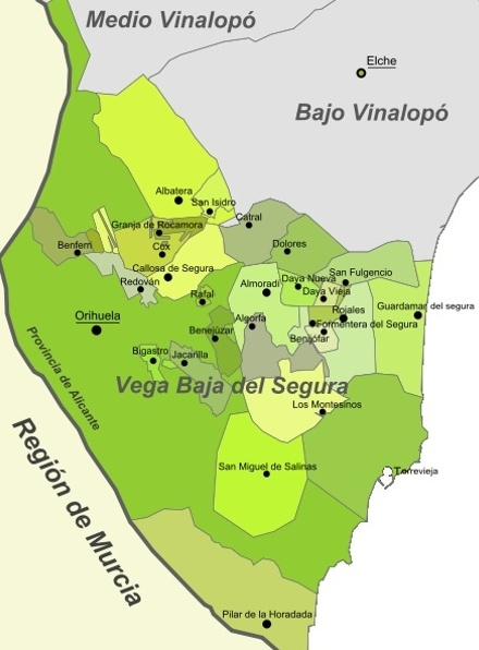 Certificado Energetico Alicante - Comarca Vega Baja del Segura