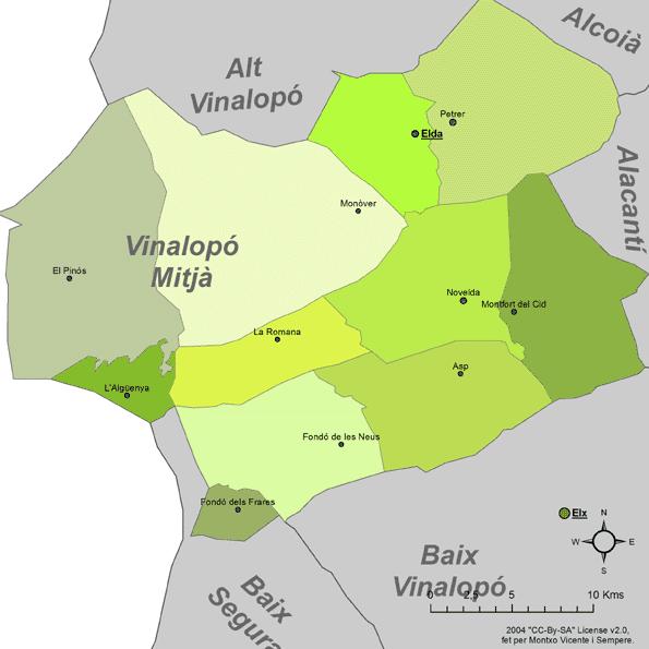 Certificado Energetico Alicante - Comarca Vinalopo Mitja