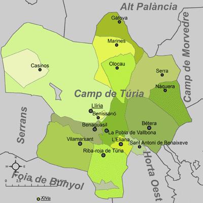 Certificado Energetico Valencia - Comarca Camp de Turia