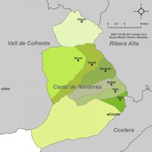 Certificado Energetico Valencia - Comarca Canal de Navarres