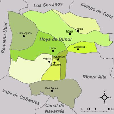 Certificado Energetico Valencia - Comarca Hoya de Buñol