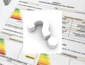 Dudas Certificado Energético