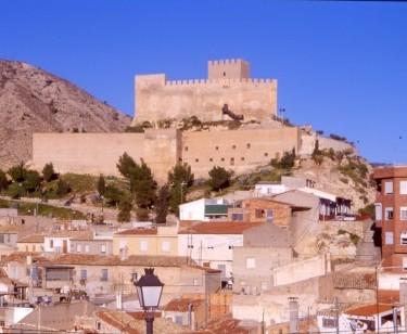 Petrer castillo