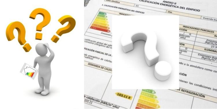 Preguntas frecuentes certificado energetico