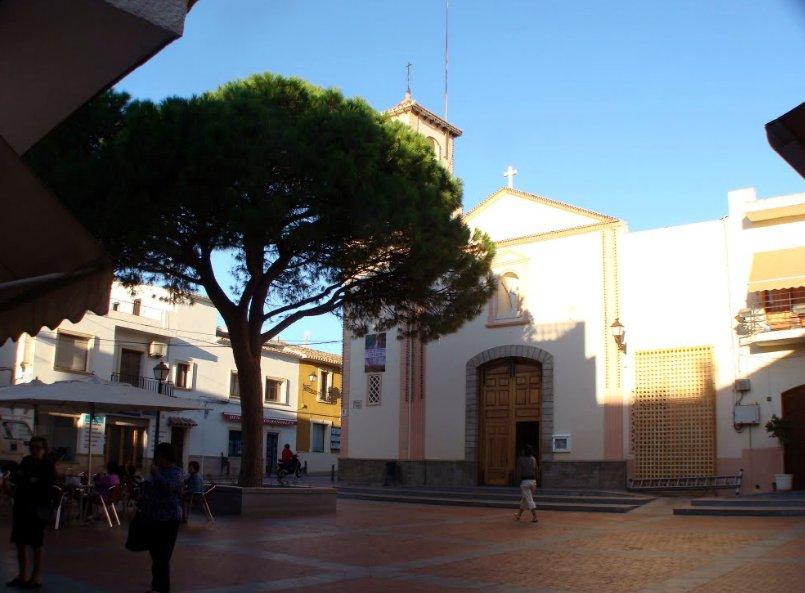Alfaz del Pi - plaza