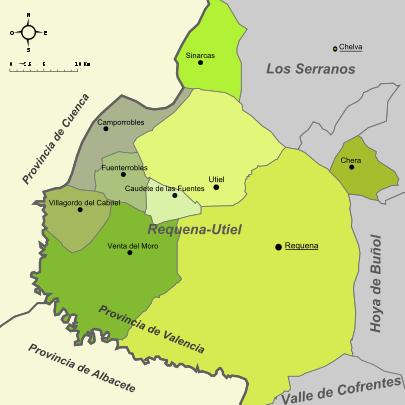 Certificado Energetico Valencia - Comarca Plana Utiel Requena