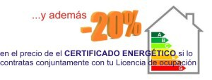 20 descuento certificado energetico