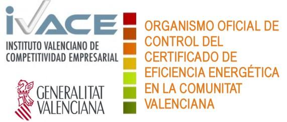 Ivace organismo oficial certificado eficiencia energetica en la comunidad valenciana