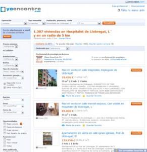 Consulta realizada en Yaencontre.com
