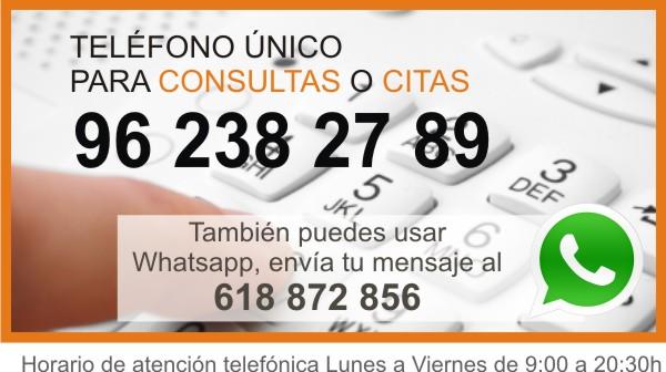 Telefono atencion Certivali