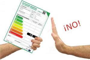 exencion certificado energetico