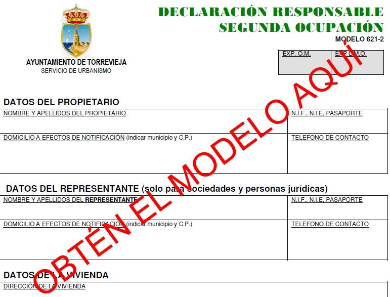 Declaracion responsable 2ª Ocupacion Torrevieja LOGO