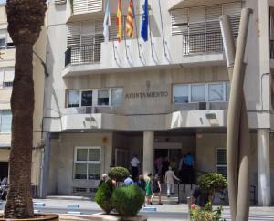 Fachada Ayuntamiento Torrevieja