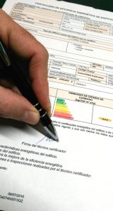 Arquitecto firma Certificado Eficiencia Energetica