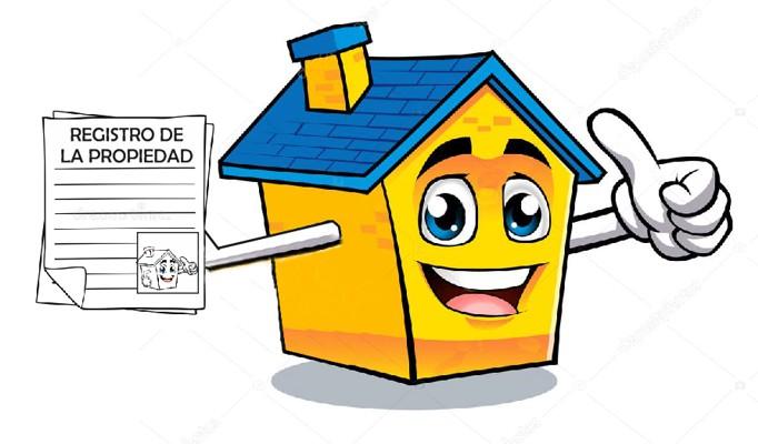 Casa con registro de la propiedad