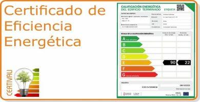 Acceso seccion Certificado Eficiencia Energetica