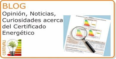 Acceso seccion Certificado Energetico Blog