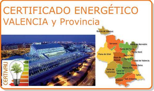 Acceso seccion Certificado Energetico Valencia