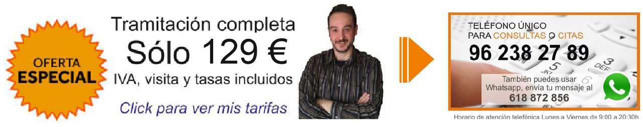 Tarifa 129 Renovacion Licencia Ocupacion Valencia