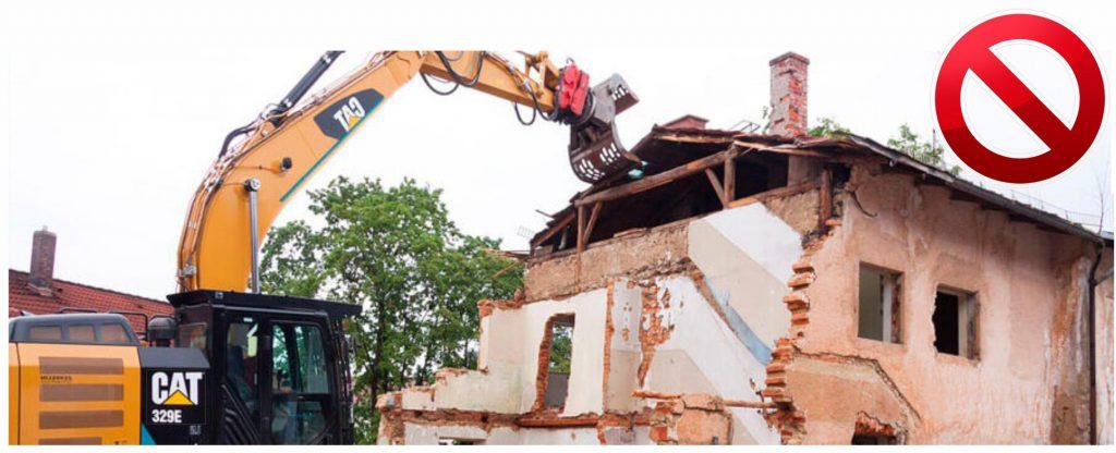 Infraccion urbanistica posible demolicion