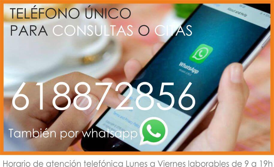 Telefono contacto certivali certificado energetico