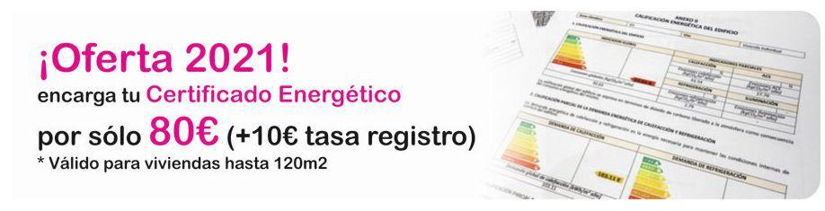 Precio certificado energetico Certivali