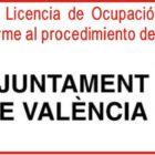 Solicita aquí la renovacion de Licencia de Ocupacion Ayuntamiento Valencia